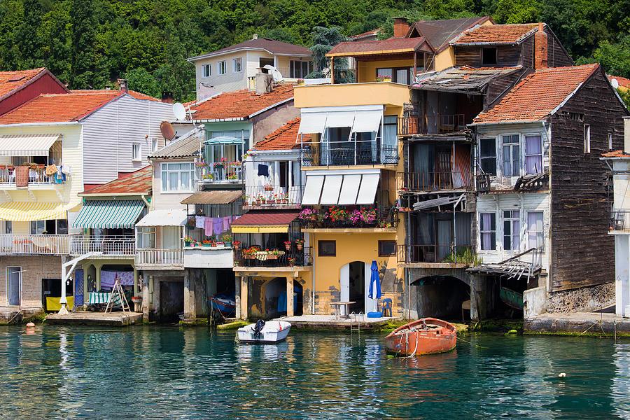 Anadolu Kavagi Village In Turkey Photograph by Artur Bogacki