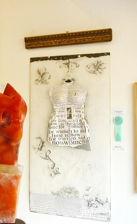 Anahi Decanio Wins Award For Up Against The Plastic Wall Digital Art
