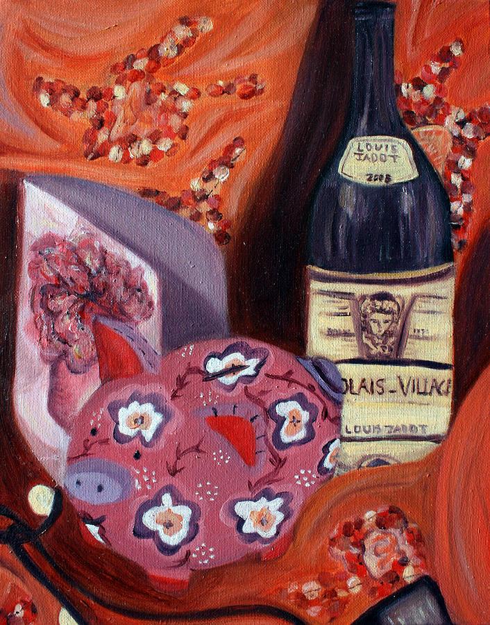 Analogous Still Life Painting