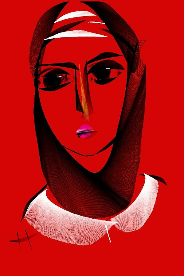 Anatolian Woman Digital Art