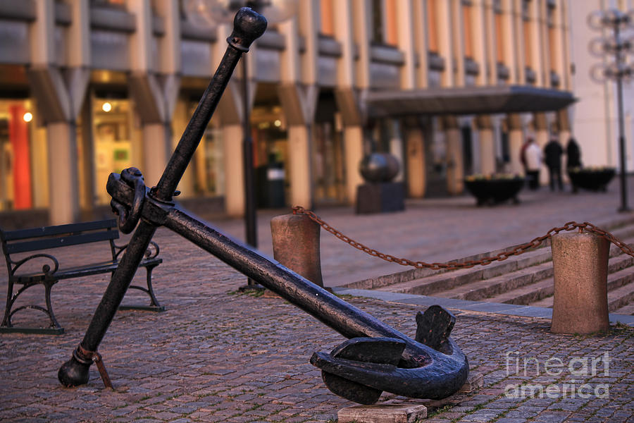 Anchor Photograph  - Anchor Fine Art Print