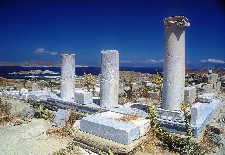 Ancient Delos Photograph by Andonis Katanos