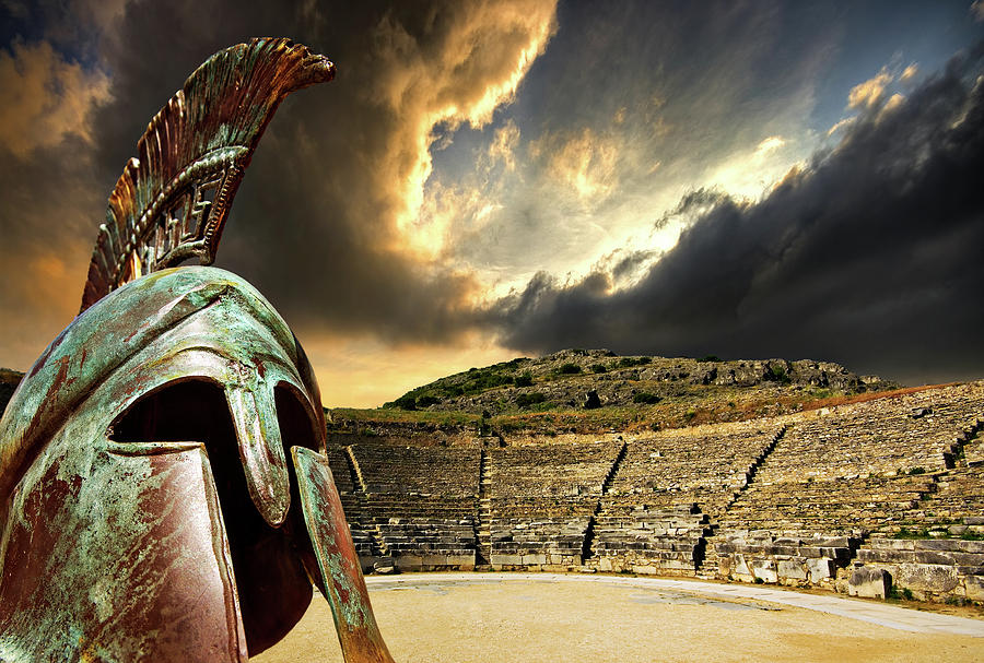 Ancient Greece Photograph  - Ancient Greece Fine Art Print