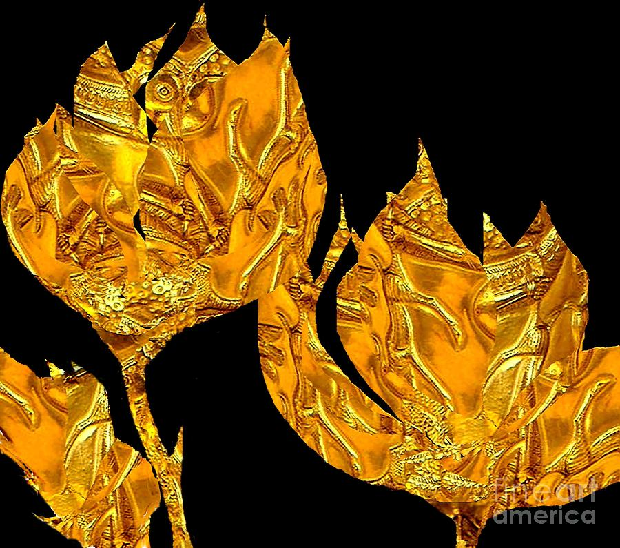 Ancient Roses 2 Painting  - Ancient Roses 2 Fine Art Print