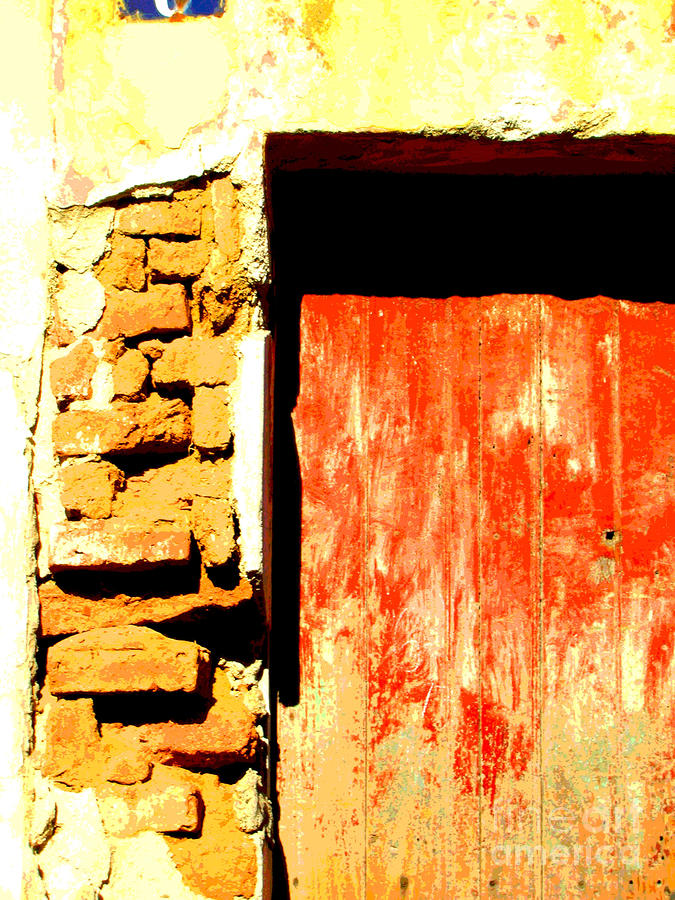 Ancient Wall 10 By Michael Fitzpatrick Photograph  - Ancient Wall 10 By Michael Fitzpatrick Fine Art Print