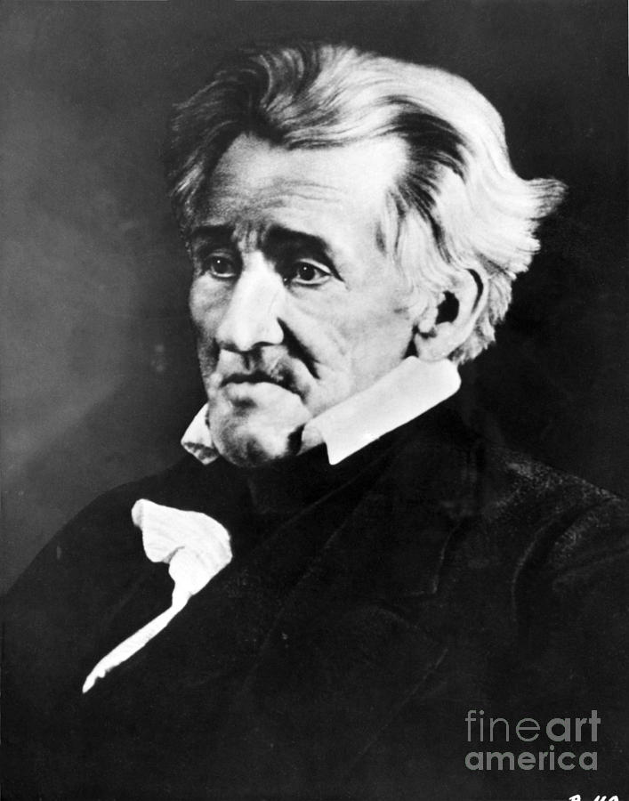 Andrew Jackson, 7th American President Photograph