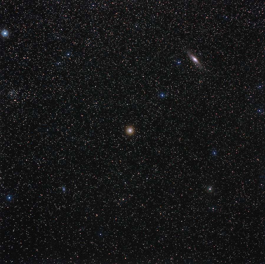 Andromeda Starfield Photograph