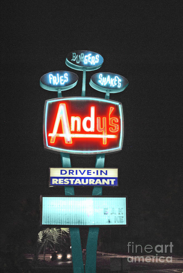 Andy Photograph - Andys Drive-in by Jost Houk