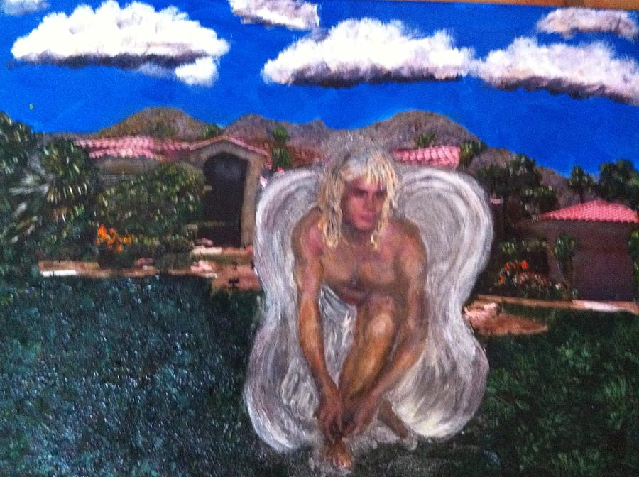 Angel In Indian Wells Painting