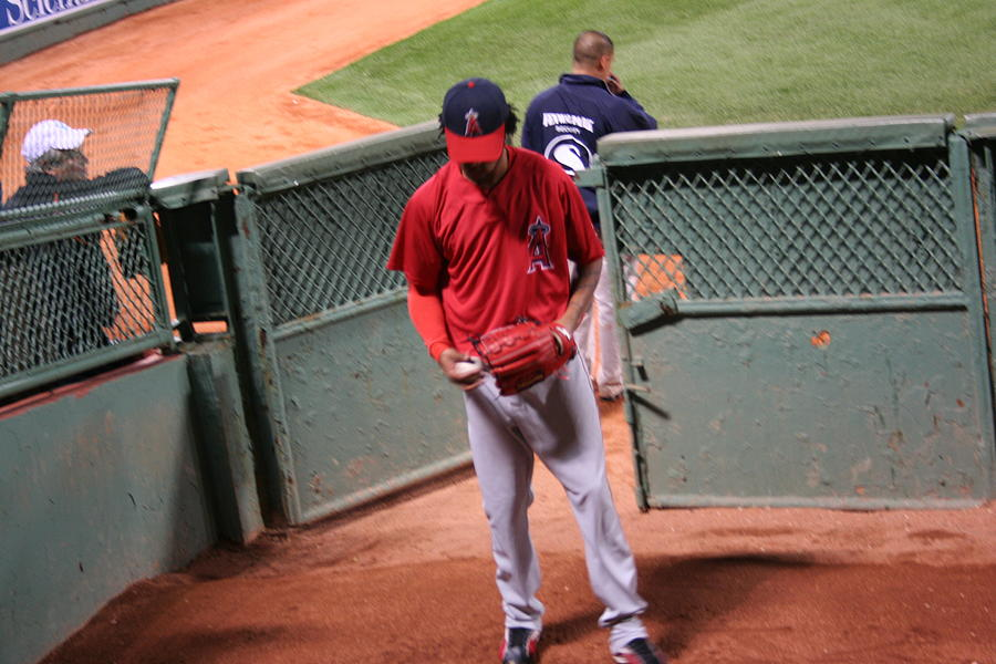 Angel In The Bullpen Photograph