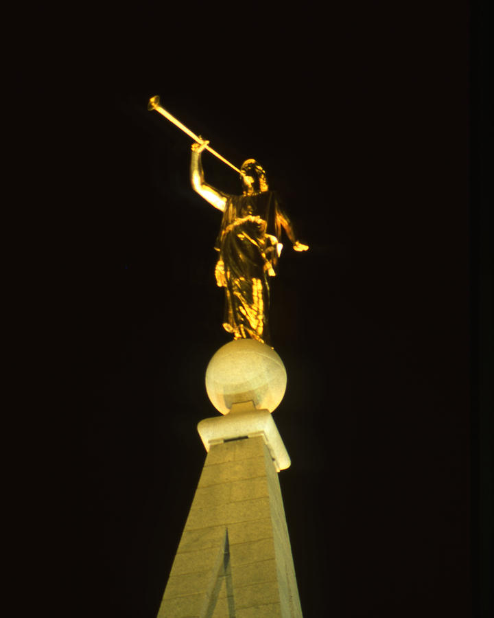 Angel Moroni Photograph  - Angel Moroni Fine Art Print