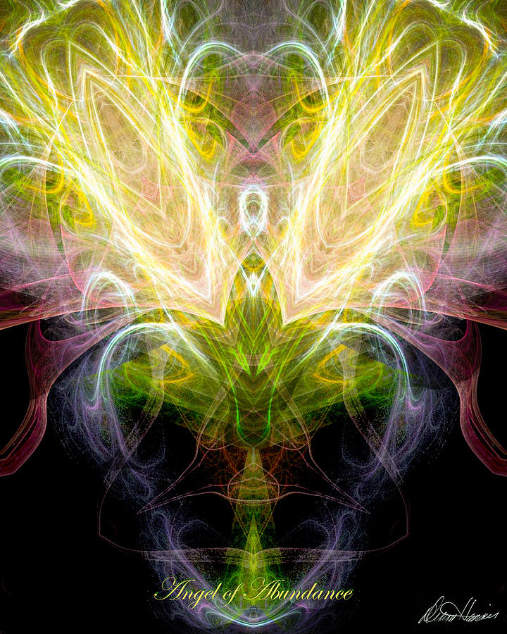 Angel Of Abundance Digital Art