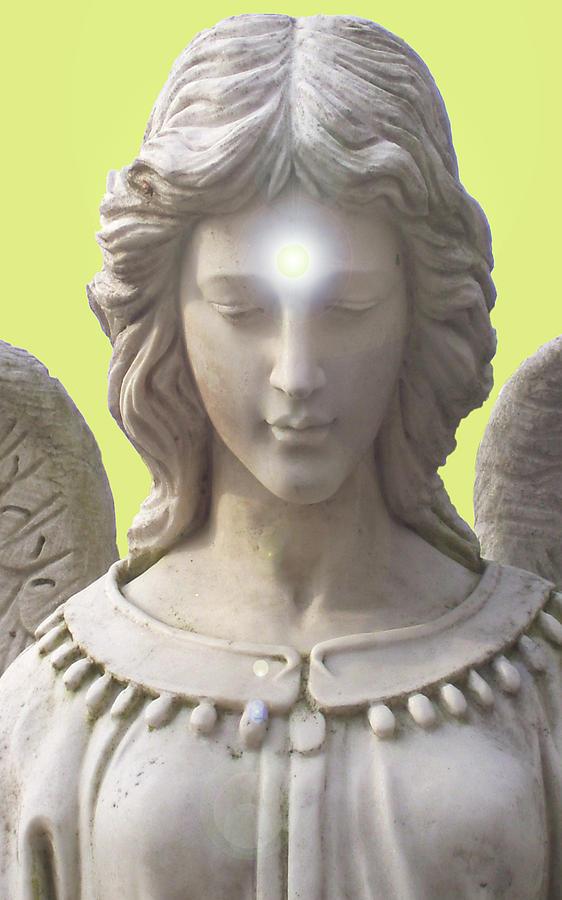 Angel Of Devotion No. 12 Mixed Media