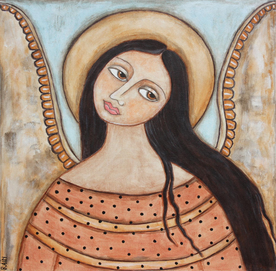 Angel Of Silence Painting