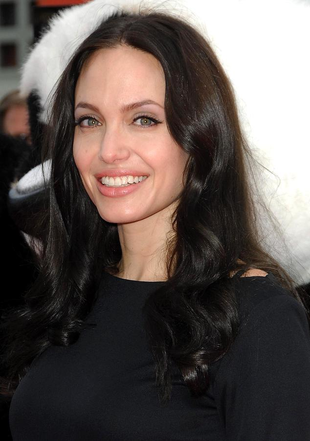Angelina Jolie At Arrivals For Dvd Photograph