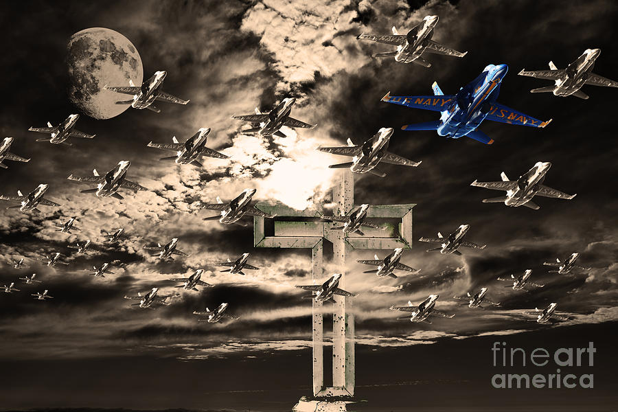 Angels In The Sky Photograph  - Angels In The Sky Fine Art Print