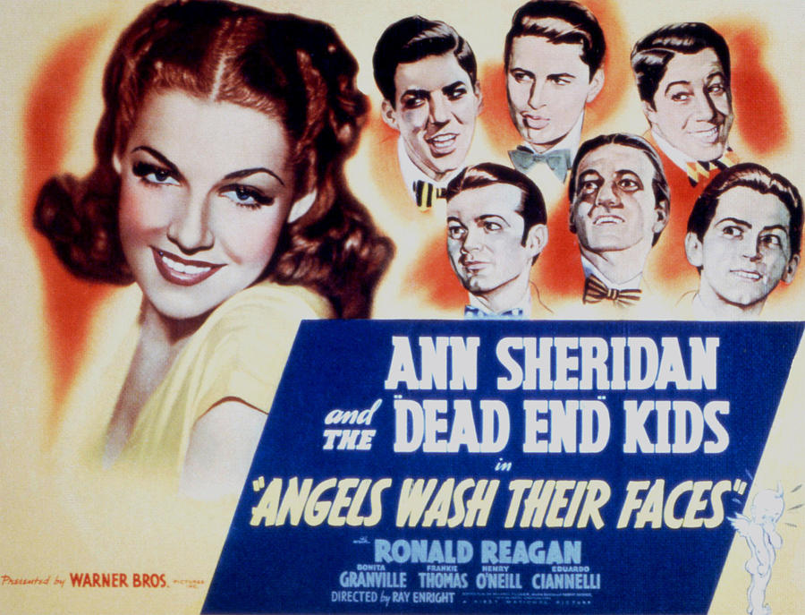 Angels Wash Their Faces, Ann Sheridan Photograph  - Angels Wash Their Faces, Ann Sheridan Fine Art Print