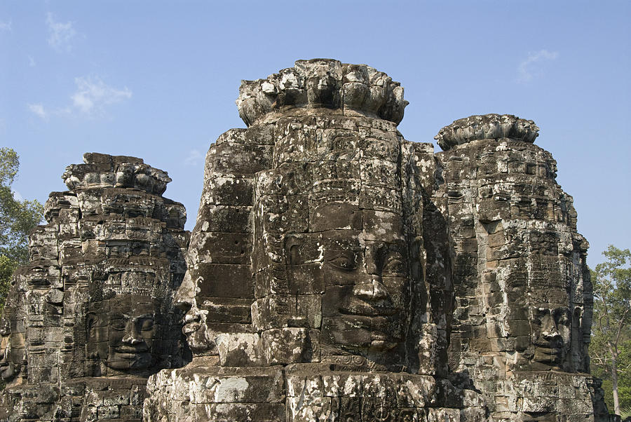 Ancient Photograph - Angkor Thom IIi by Gloria & Richard Maschmeyer