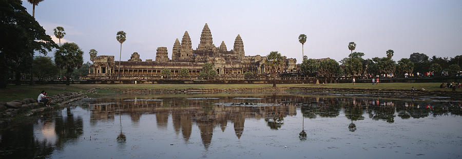 Angkor Wat, A Buddhist Temple Photograph