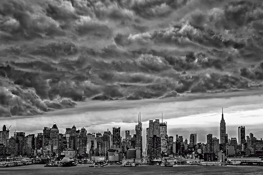 Angry Skies Over Nyc Photograph