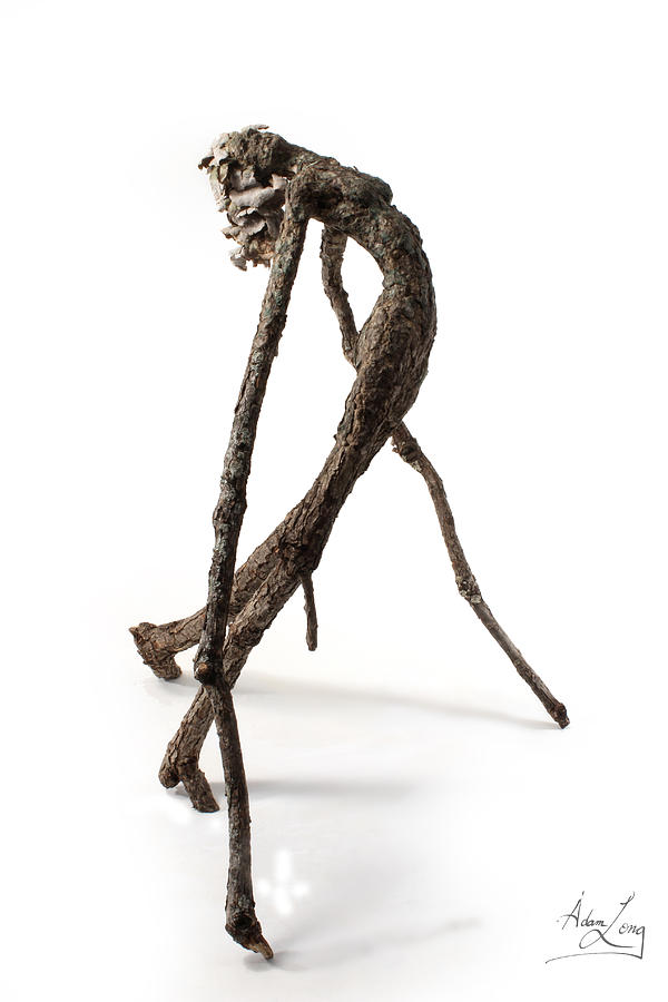 Anguish Sculpture  - Anguish Fine Art Print