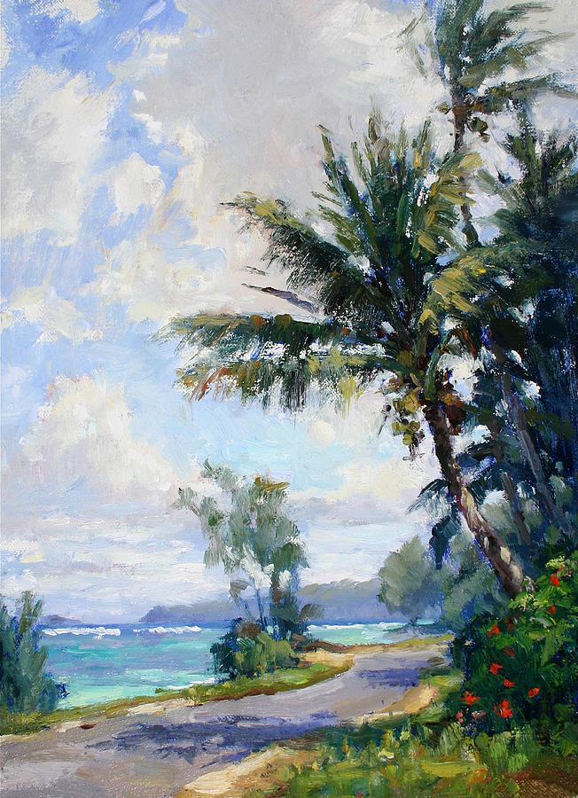 Anini Road Painting