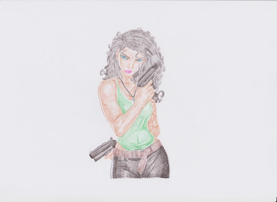 Anita Blake Drawing