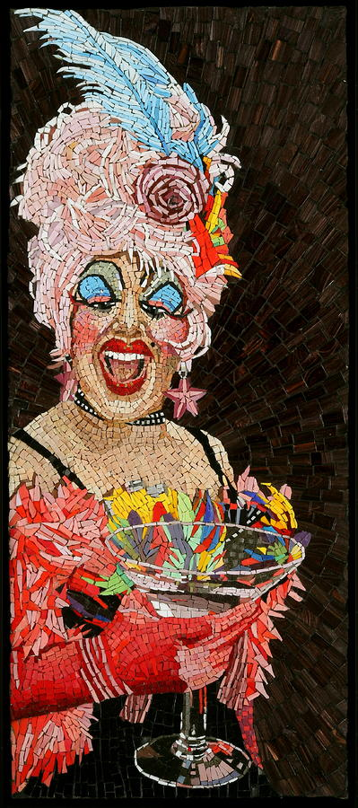 Anita Cocktail Painting  - Anita Cocktail Fine Art Print