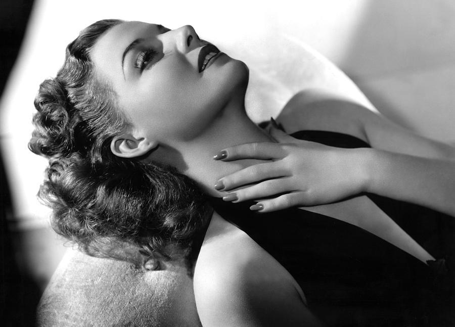 Ann Sheridan, Portrait, Circa 1940 Photograph
