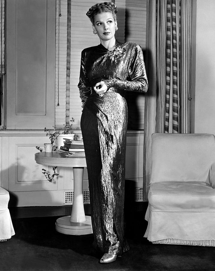 Ann Sheridan, Portrait, Circa 1946 Photograph