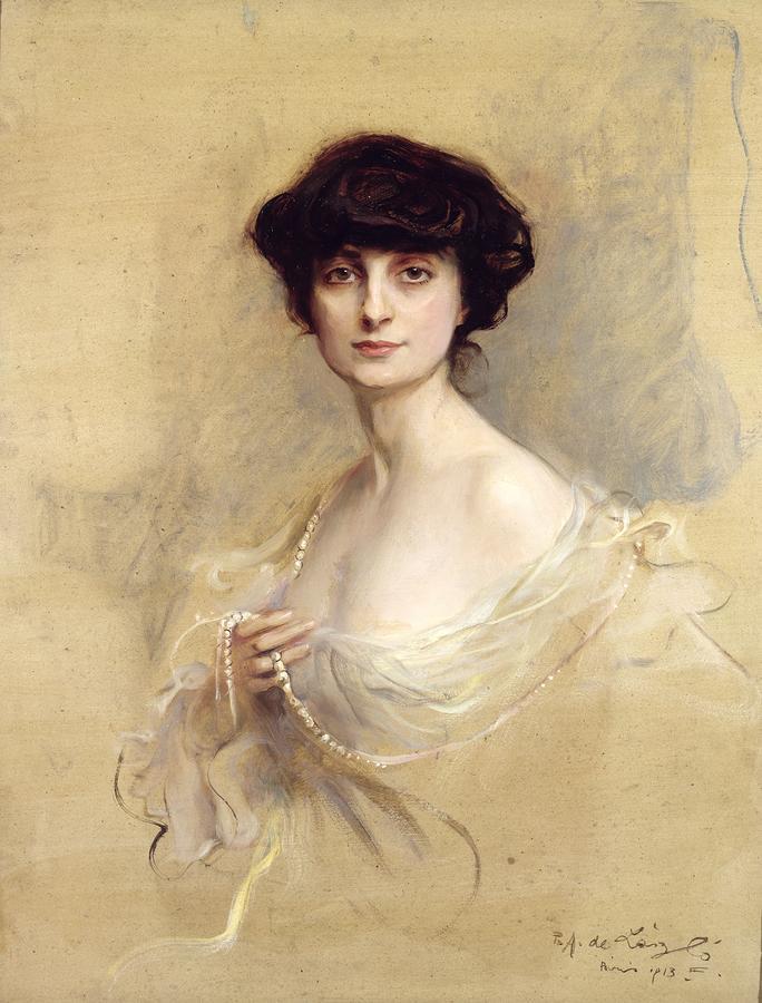 Anna De Noailles Painting
