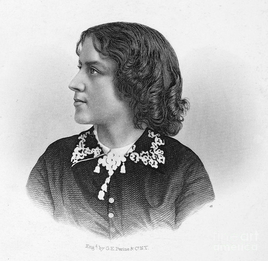 Anna Elizabeth Dickinson Photograph