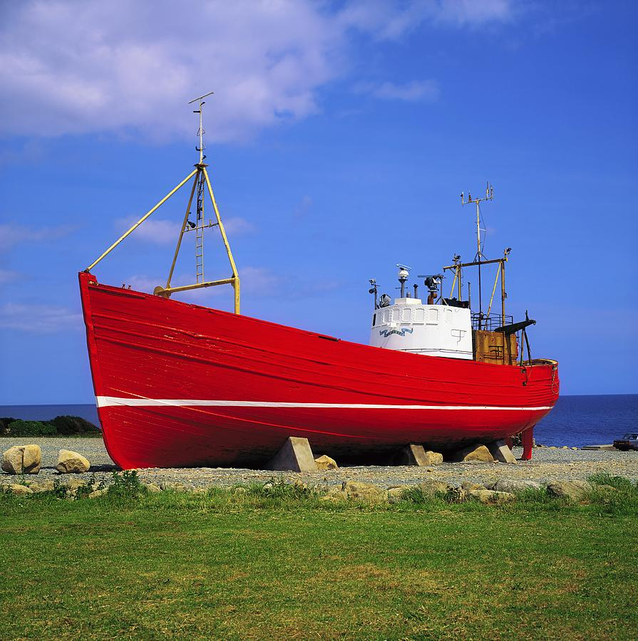 Annalong co down ireland fishing boat photograph by the for Fishing in ireland