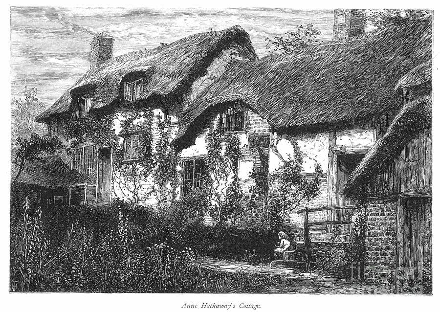 Anne Hathaways Cottage Photograph