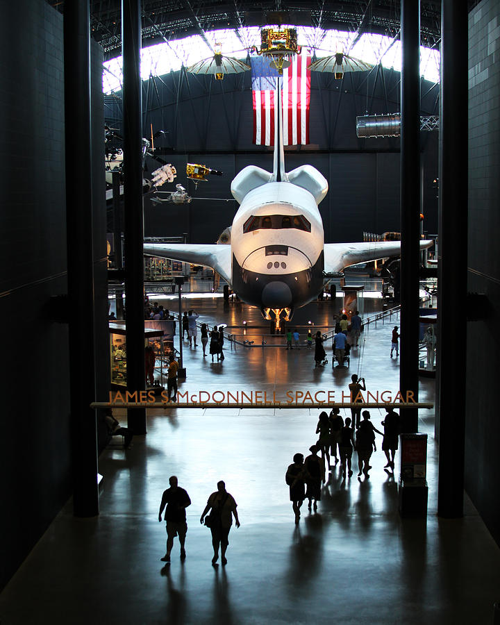Space Shuttle Photograph - Annex by Brian M Lumley
