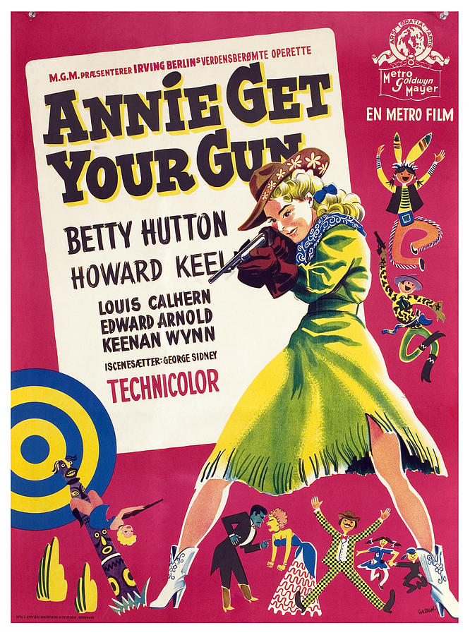 Annie Get Your Gun, Betty Hutton, 1950 Photograph  - Annie Get Your Gun, Betty Hutton, 1950 Fine Art Print