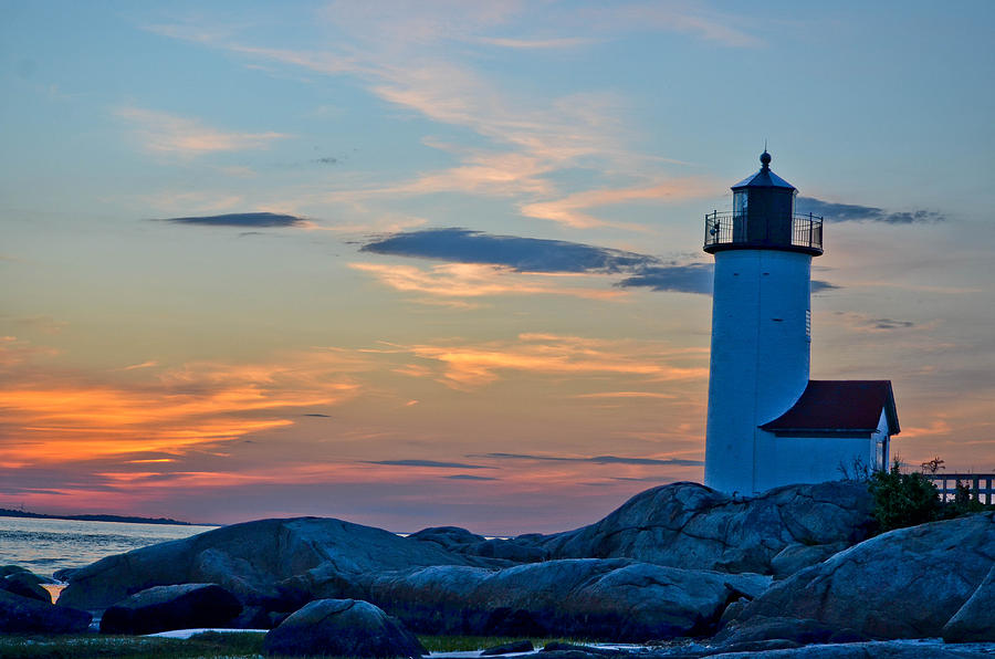 Lighthouse Sunset Paintings Lighthouse at Lighthouse Sunset Photograph Famous Dolphin Painting