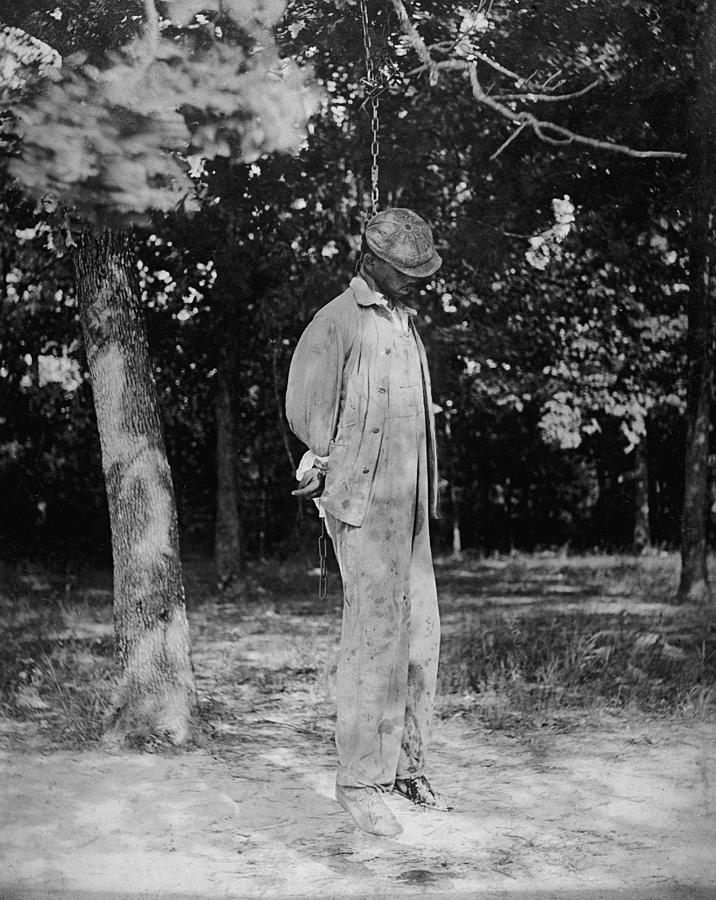 Anonymous African American Lynching Photograph  - Anonymous African American Lynching Fine Art Print
