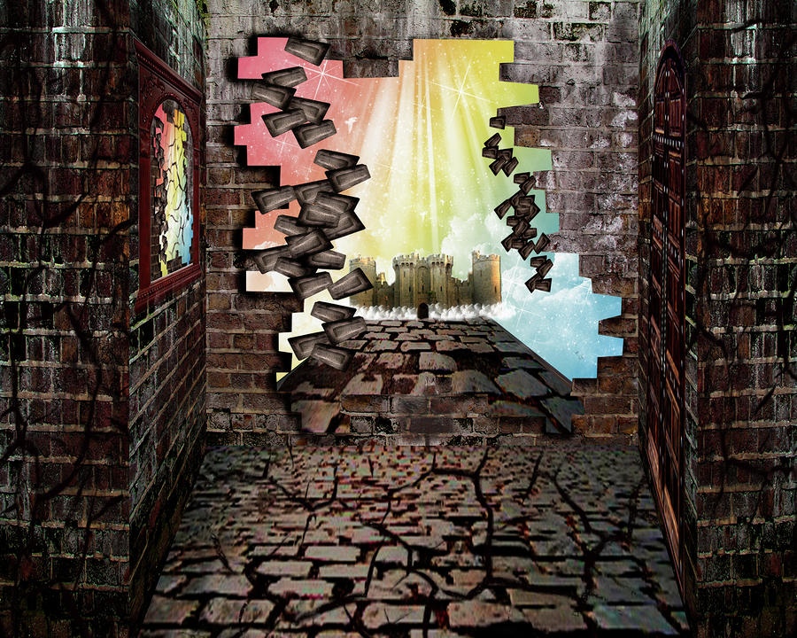 Wall Art The Brick : Brick wall art old