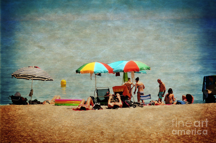 Beach Photograph - Another Day At The Beach by Mary Machare