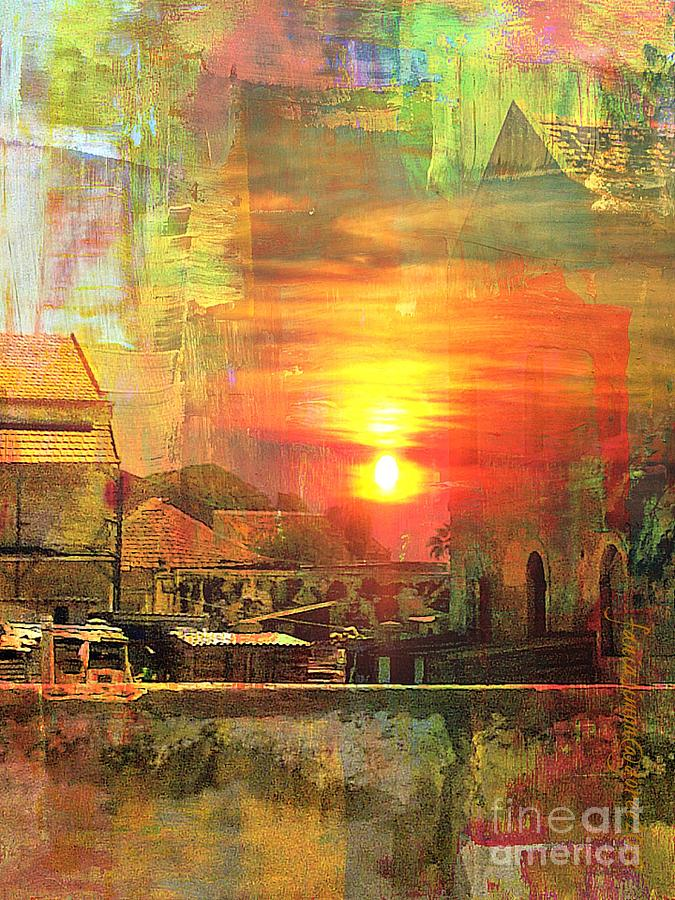 Another Day In Poverty Mixed Media  - Another Day In Poverty Fine Art Print