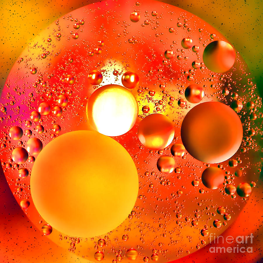 Abstract Photograph - Another World by Olivier Le Queinec