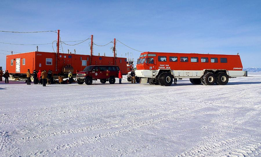 Antarctic Tundra Bus Photograph