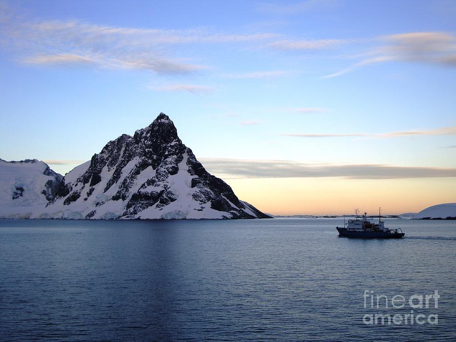 Antarctica Pyrography - Antarctica by Karen Kean