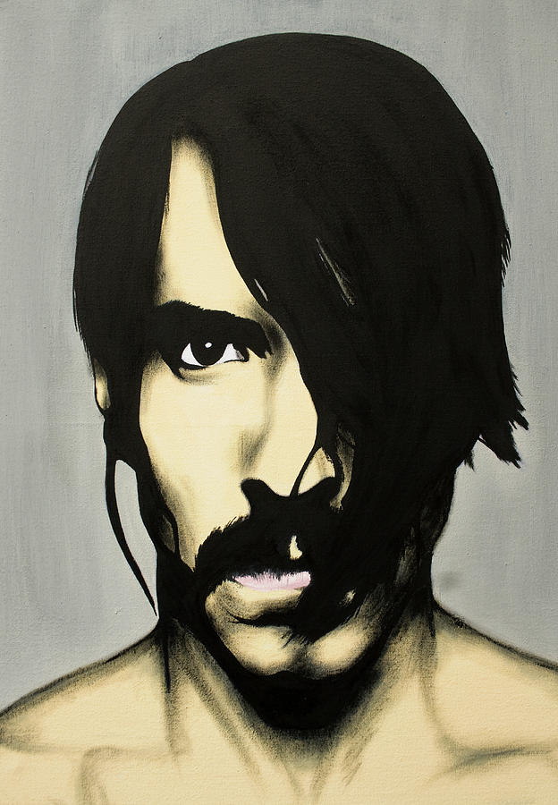 Anthony Kiedis Painting  - Anthony Kiedis Fine Art Print