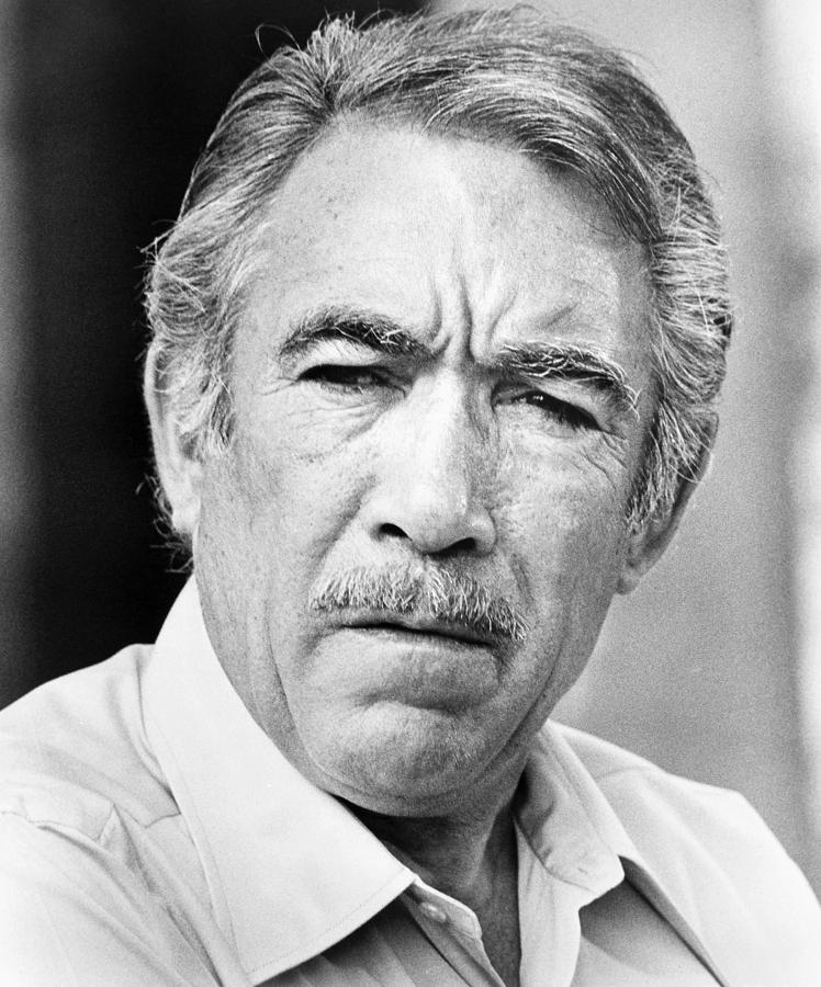 Anthony Quinn (1915-2001) is a photograph by Granger which was ...