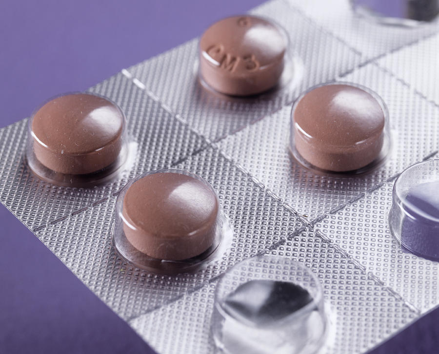 Anti-malarial Pills Photograph