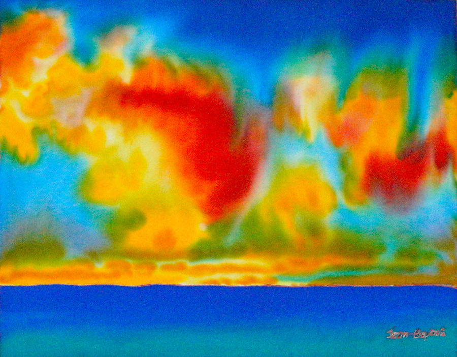 Abstract Painting Painting - Antigua by Daniel Jean-Baptiste
