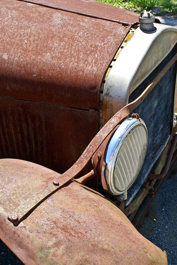 Antique Car Headlamp 2 Photograph  - Antique Car Headlamp 2 Fine Art Print