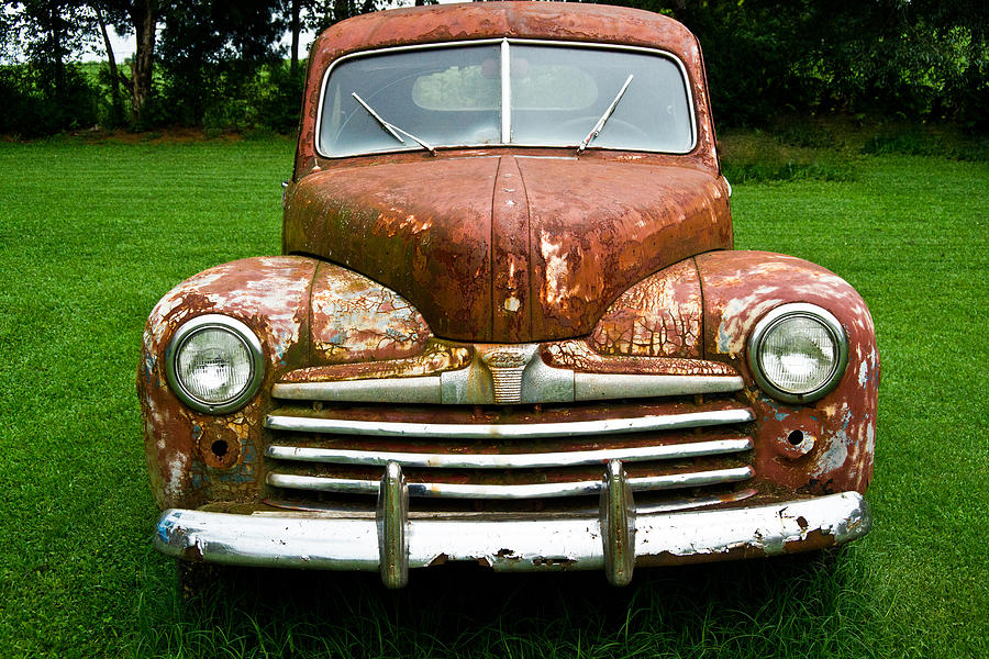Antique Ford Car 8 Photograph